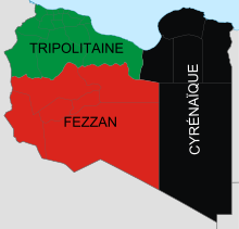 Tripolitane-Cyrénaïque-Fezzan